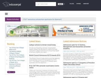 edusanjal.com screenshot
