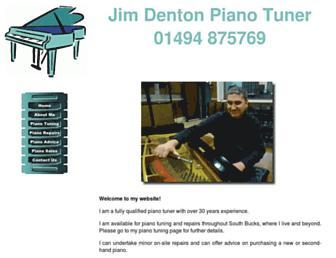 jimdentonpianotuner.co.uk screenshot