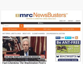 newsbusters.org screenshot