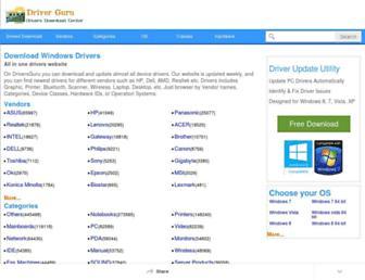 driversguru.com screenshot