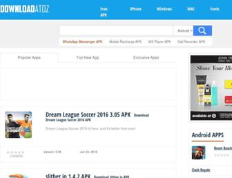 Thumbshot of Downloadatoz.com
