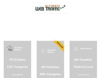 Thumbshot of Ultimatewebtraffic.com