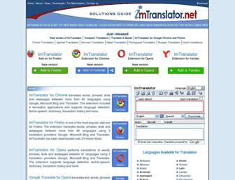 imtranslator.net screenshot