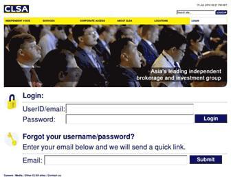 Thumbshot of Clsa.com