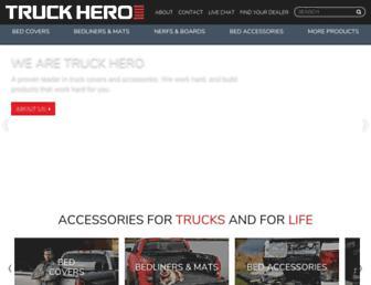 truck-hero.com screenshot