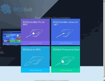 help.bcgsoft.com screenshot