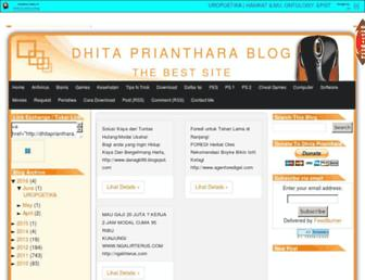 dhitaprianthara.blogspot.com screenshot