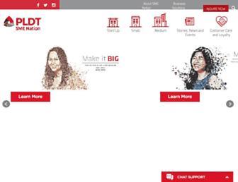 pldtsme-nation.com.ph screenshot