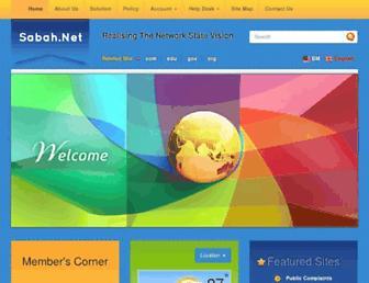 Thumbshot of Sabah.net.my