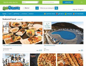 gosawa.com screenshot