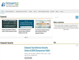 techsupportall.com screenshot