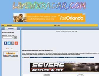 livewxradar.com screenshot
