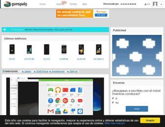 gsmspain.com screenshot