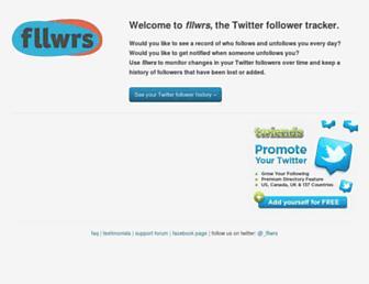 Thumbshot of Fllwrs.com
