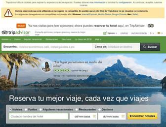 tripadvisor.es screenshot