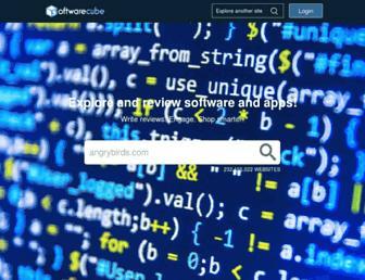 Main page screenshot of softwarecube.org