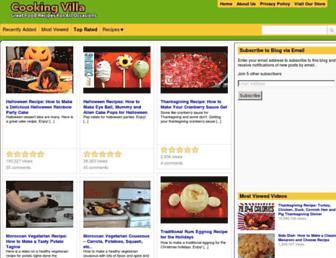 Thumbshot of Cookingvilla.com