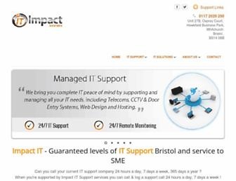 impactitsolutions.co.uk screenshot