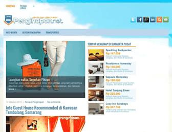 penginapan.net screenshot