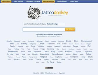 tattoodonkey.com screenshot