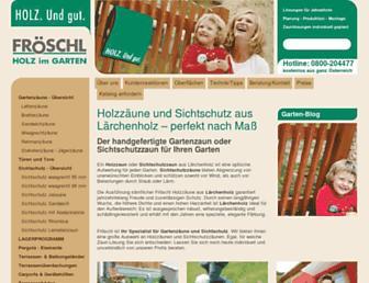 Screenshot for mfroeschl.at