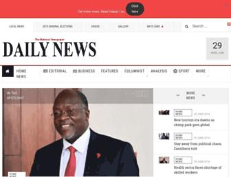 Thumbshot of Dailynews.co.tz