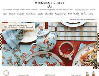 Thumbshot of Mackenzie-childs.com