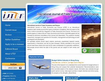 ijtef.org screenshot