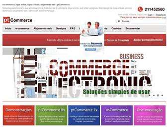 ptcommerce.net screenshot
