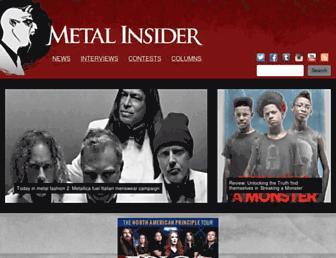 Thumbshot of Metalinsider.net