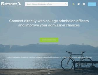 univariety.com screenshot