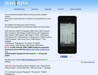 unlockbehold.com screenshot