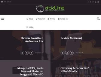 droidlime.com screenshot