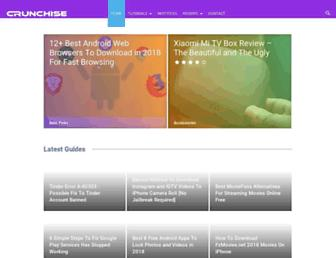 crunchise.com screenshot