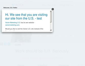vectormarketing.ca screenshot