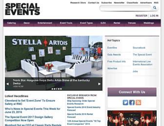 specialevents.com screenshot
