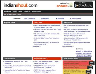 indianshout.com screenshot