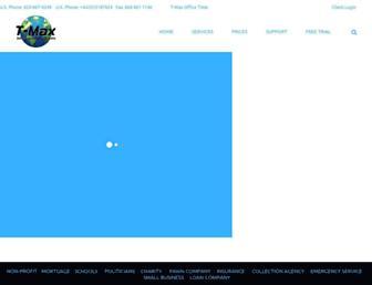 tmaxdialer.com screenshot