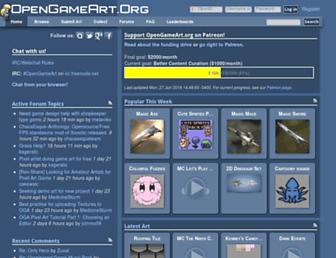 opengameart.org screenshot