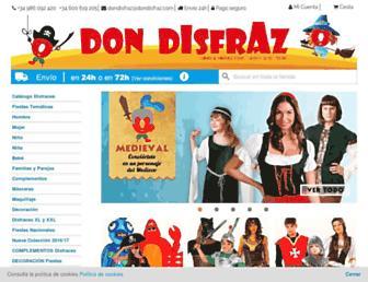 dondisfraz.com screenshot
