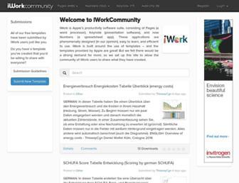 iworkcommunity.com screenshot