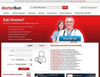 doctorbun.ro screenshot