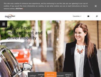 leaseplan.com screenshot