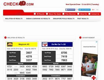 Thumbshot of Check4d.com