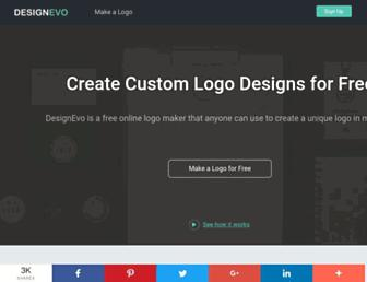 designevo.com screenshot