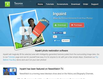 theinpaint.com screenshot