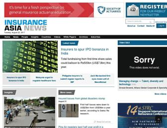 insuranceasianews.com screenshot