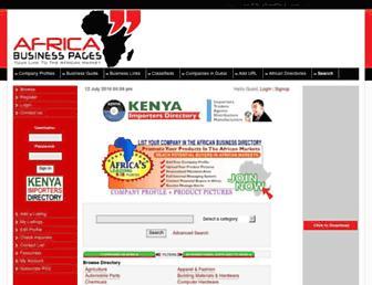 directory.africa-business.com screenshot