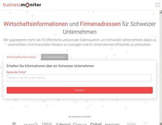 business-monitor.ch screenshot