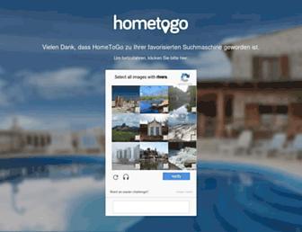 hometogo.co.uk screenshot